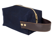 Dave's Waxed Canvas Dopp Kit