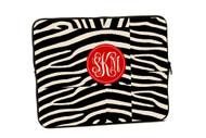 Zebra iPad and Laptop Sleeves