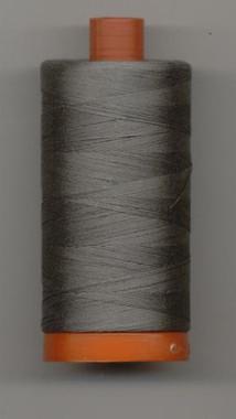 Aurifil Cotton Make 50wt Grey Smoke 1300m