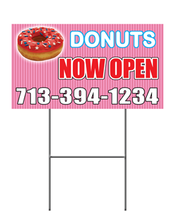 Full Color Yard Sign 12x24
