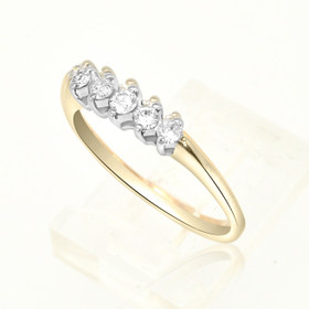 14K Yellow Gold Diamond Band 11000421