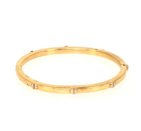 20000170 14k Yellow Gold Baby Bangle