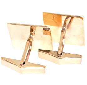89910054 14K Yellow Gold Cufflinks