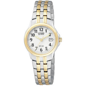Citizen Women's EW1544-53A Eco-Drive Silhouette Sport Two-Tone Watch