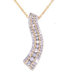 10K Yellow Gold Diamond Journey Charm 51001620