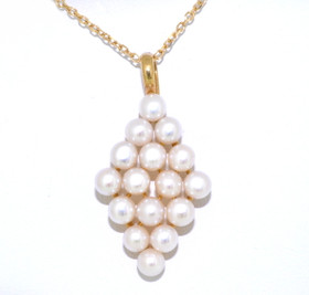 14K Yellow Gold Pearl Pendant 52000649