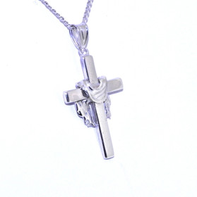 Sterling Silver Cross Charm 85010435