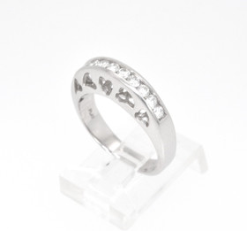 Platinum .50ct Diamond Wedding Band 11001984