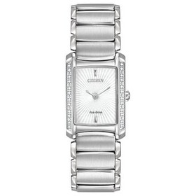 Citizen Women's EG2960-57A Euphoria Analog Display Japanese Quartz Silver Watch 60000825