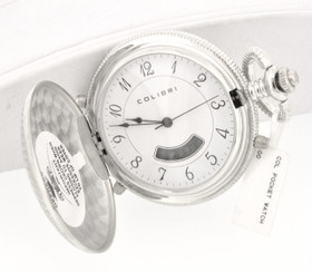 Colibri Silver Tone Pocket Watch 70000016