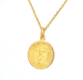 18K Yellow Gold Religious Charm 50002958