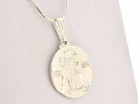Sterling Silver Orthodox Christian Religious Charm 85010358
