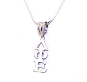 Sterling Silver Delta Phi Epsilon Charm 83310017