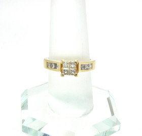 14K Yellow Gold 0.50ct Diamond Engagement Ring