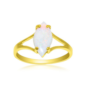 14K Yellow Gold Opal Ring 12002480