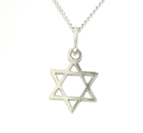 Starling Silver Star of David Charm 85010236