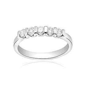 Platinum 0.45ct Diamond  Ring