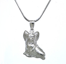 Sterling Silver Yorkie Charm 85010476