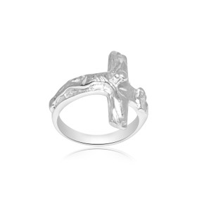 Sterling Silver Cross Ring 81010512