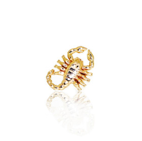 14K Yellow Gold Scorpio Men's Single Earring 40002289