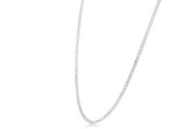 14K White Gold Cubin Chain 30001905