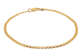 "14K Yellow Gold 7"" Mariner link  Bracelet 20001142"
