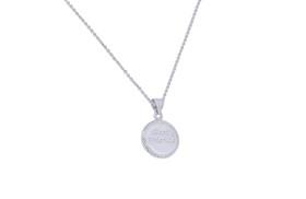Sterling Silver Best Friend Necklace