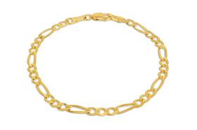 "14K Yellow Gold 7"" Figaro Bracelet 20001441"