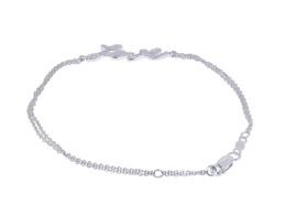 14K White Gold 0.15-carat Love Bracelet