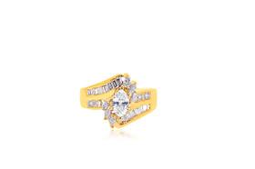 14K Yellow Gold Diamond Ring 11005639