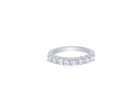 14K White Gold Diamond Wedding Band 11005651
