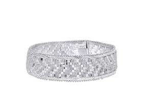 """Sterling Silver 8"""" Cleopatra Bracelet 82010632"""