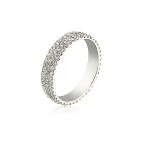 14K White Gold Diamond Band 11005714