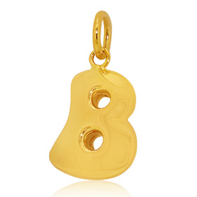 14K Yellow Gold Intial B Charm 50003276