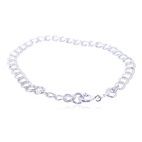 Sterling Silver Charm Bracelet 82010678