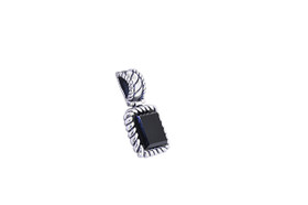 Sterling Silver Onyx Charm 85010581