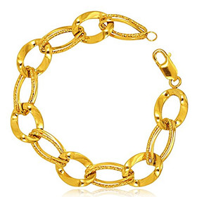 14K Yellow Gold Link Bracelet 20001527