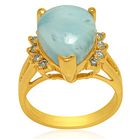 14K Yellow Gold Laramar Ring