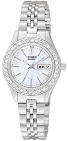 Citizen Women's EQ0530-51D Analog Display Japanese Quartz Silver Watch