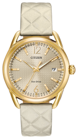 Citizen Women's 'Drive' Quartz  Casual Watch  With Leather Band FE6082-08P
