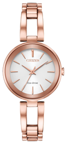 Ladies' Citizen Eco-Drive Axiom Rose Gold Bracelet Watch EM0633-53A