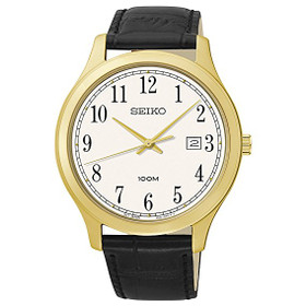 Seiko Strap Men's Quartz Watch SUR086
