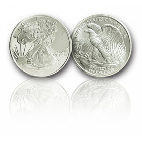 Walking Liberty Silver Dollar Coin 1-troy oz. .999 fine Silver.
