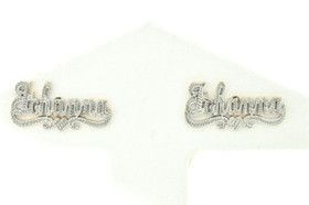 14K Yellow Gold Name Earrings Johanna 41000524