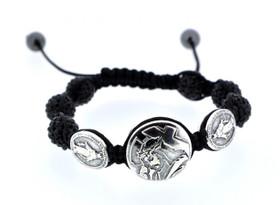 82010273 Stainless Steel Shamballa Bracelet