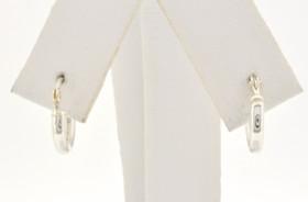 84010204 Sterling Silver 10MM Hoop Earrings