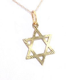 50002204 14K Yellow David Star Charm