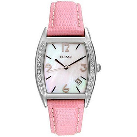 Pulsar Women's PXD989 Swarovski Crystal Watch Set
