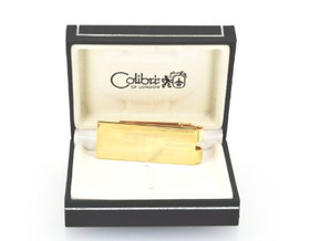 70010200 Colibri Stainless Steel Money Clip with Horizontal Stripe Design