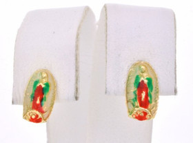40001659 14K Yellow Gold Religious Stud Earrings